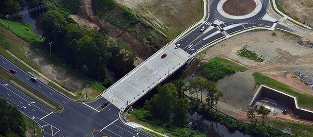NCDOT Casino Access Road & Bridge