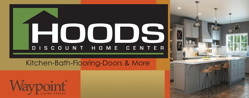 Advertisement for Hoods discount home improvement store in Farmington