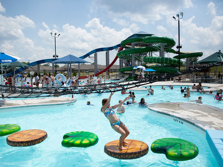 Beating the Heat at River Rapids Waterpark