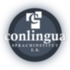 Logo und Firmenname Conlingua Sprachinstitut e.K.