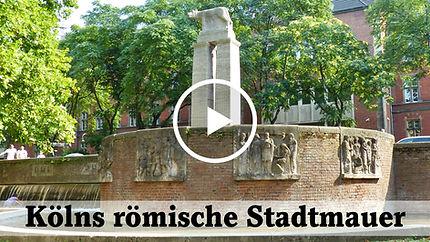Video Kölns römische Stadtmauer
