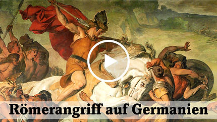 Video Römerangriff auf Germanien