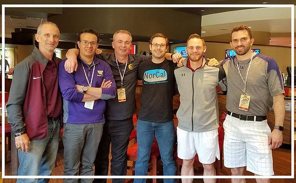 GymACT coache gathered at 2018 J.O. Nationals