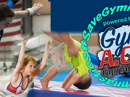 #SaveGymnastics, an unprecedented philanthropic concept