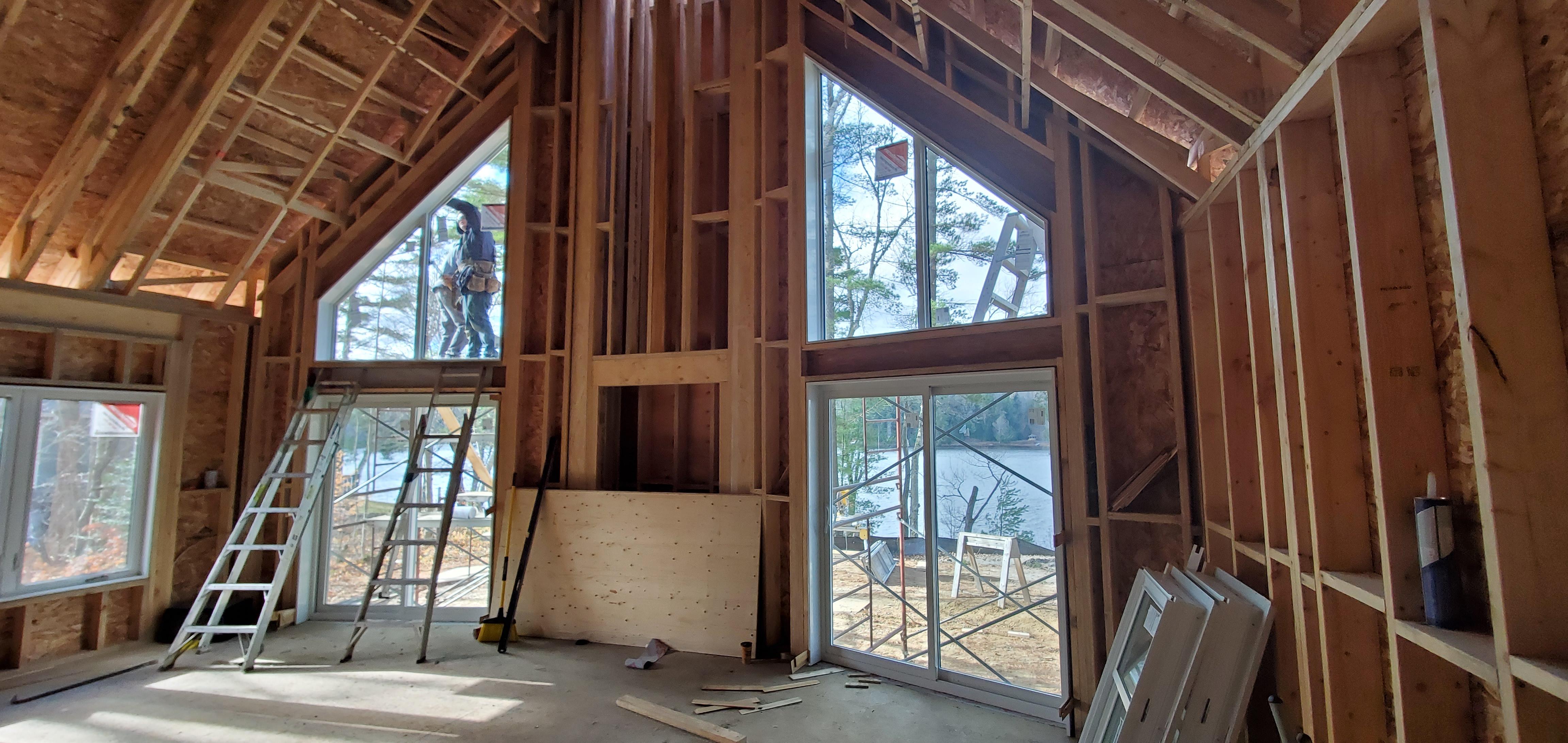 Installing Upper Windows