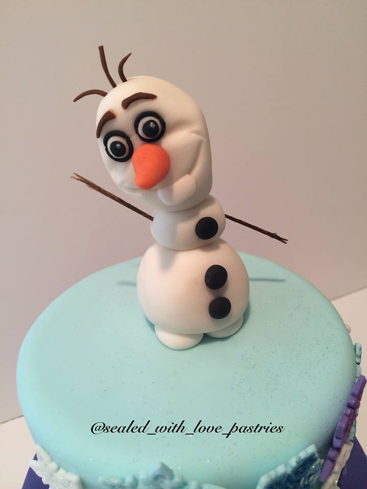 Frozen Cake Top
