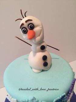 Frozen Cake Top