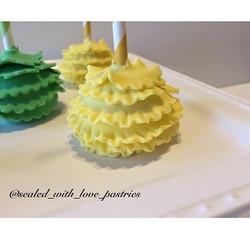 Ruffled Cake Pops
