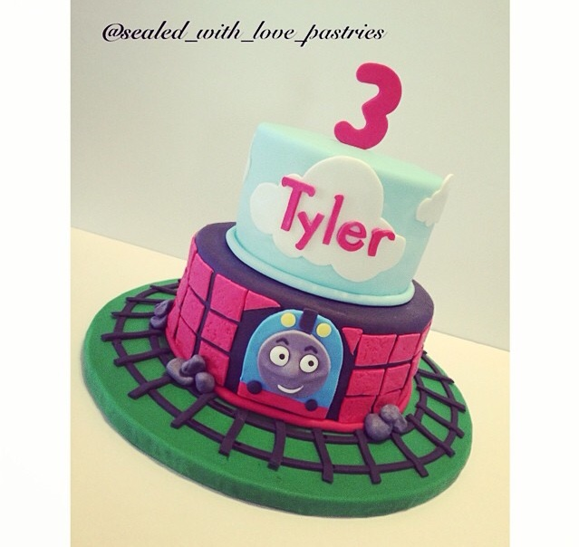 Custom Boy Birthday Cake