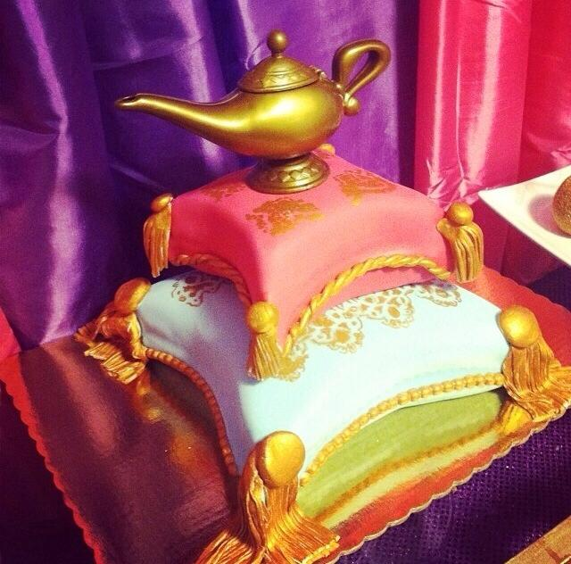 Aladdin Themed Cake