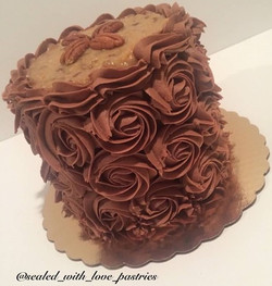 Chocolate Rossette Cake
