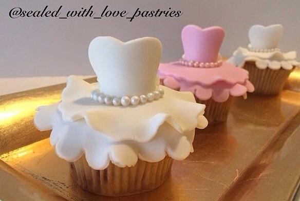 Tu Tu Dress Cupcakes