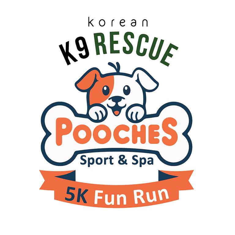 5K Fun Run with Korean K9 Rescue