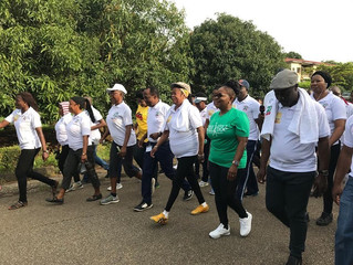 Brookfield Marks National Hospital Abuja's 20th Anniversary with Walk with a Doc.