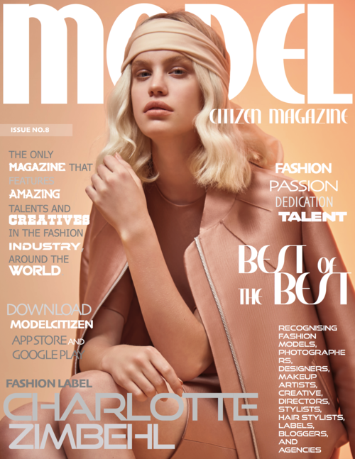 Model Citizen Magazine, List of Fashion Magazines, Fashion Magazine Cover