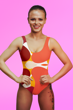 FLĖĖRT One-Piece Swimsuit Designed by Macky Suson