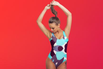 KÙLÀY One-Piece Swimsuit Designed by Macky Suson