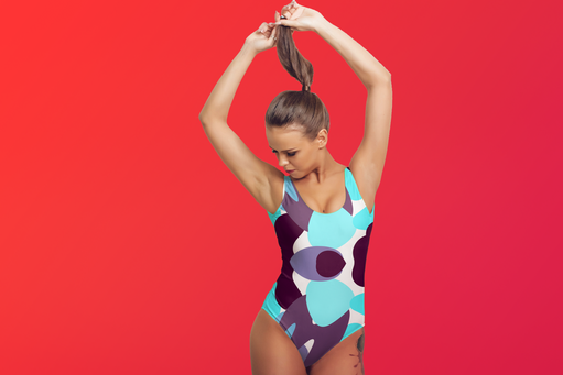 KÙLÀY One-Piece Swimsuit Designed by Macky Suson