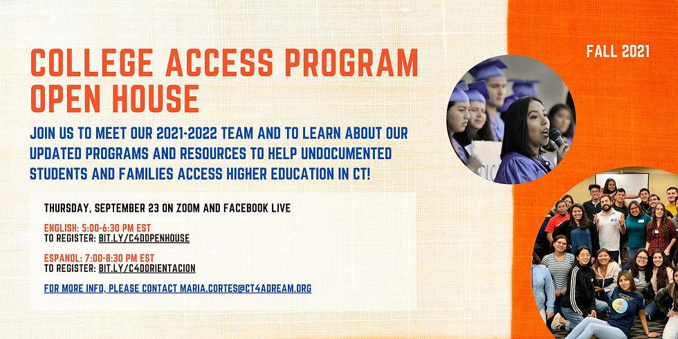 College Access Program OPEN HOUSE (2).jpg