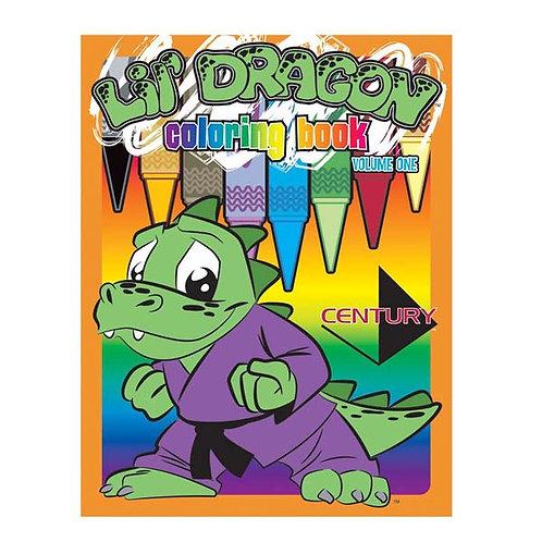 Lil' Dragon Coloring Book