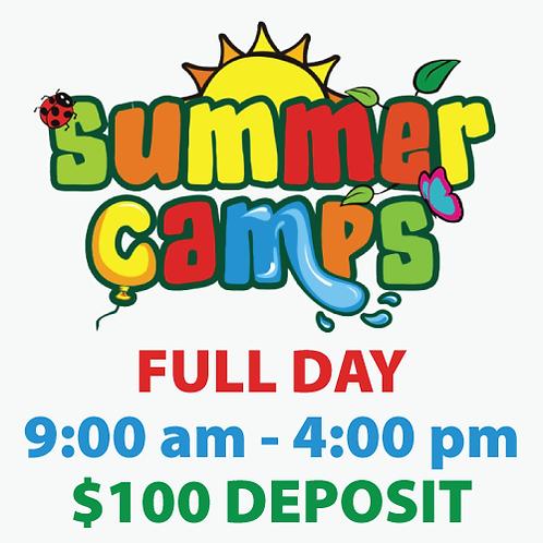 Summer Camp Deposit (full day)