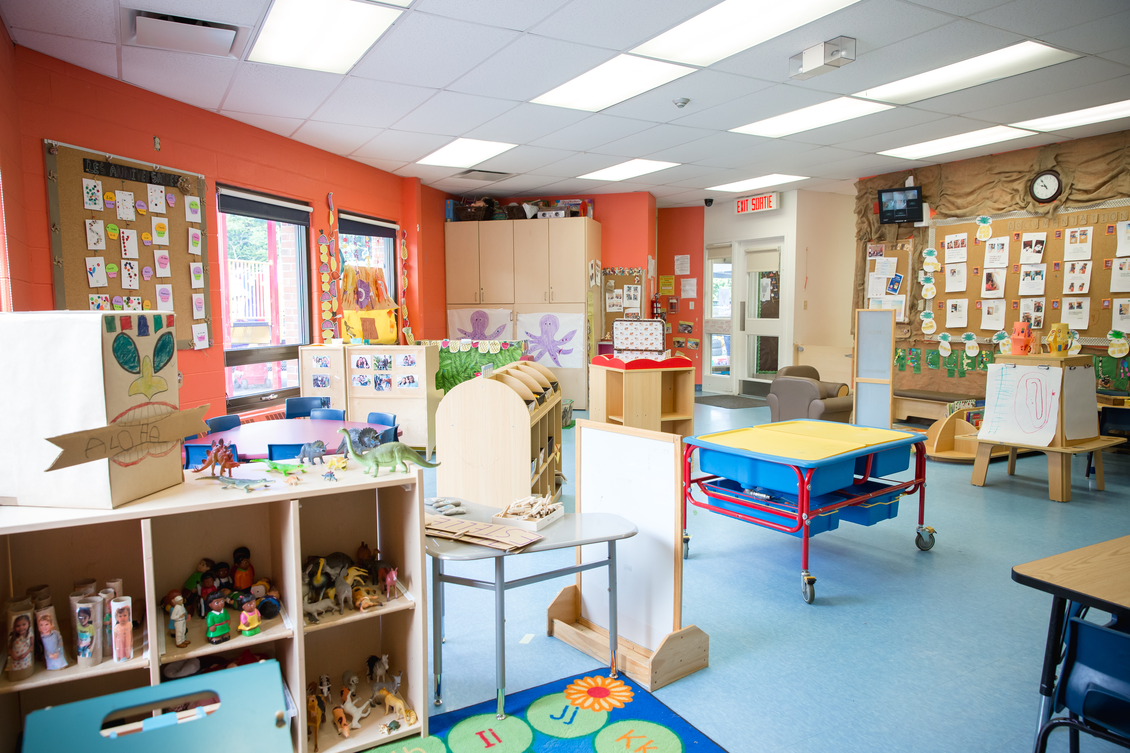 Salle de classe - Préscolaires