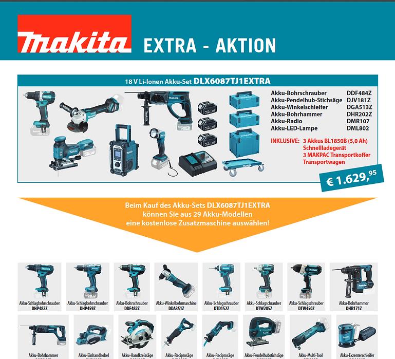 Makita Elektro-Werkzeuge