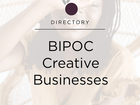 BIPOC Creative Businesses