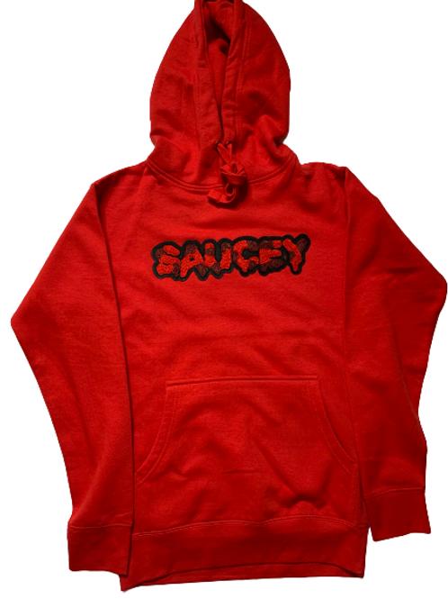Red SAUCEY Hoodie
