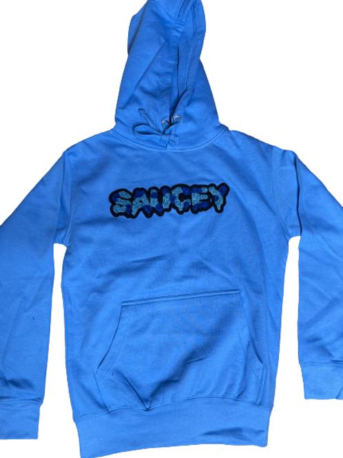 Powder Blue SAUCEY Hoodie