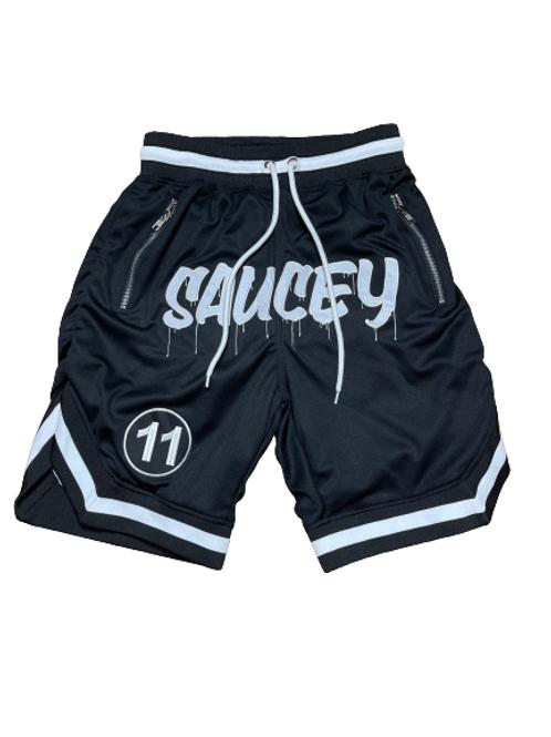 Black SAUCEY Shorts