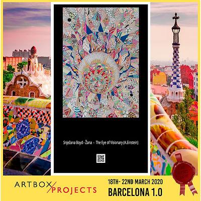 Artbox Project Barcelona 1.0 Žana Boyd