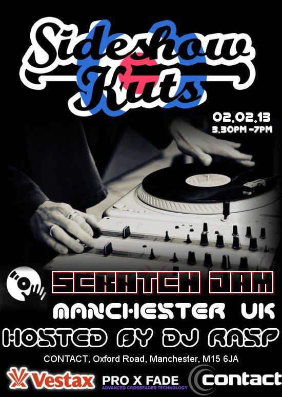 UK Scratch Jam Manchester hosted BY UK D