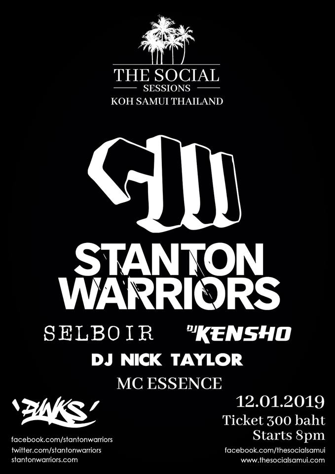 STANTON WARRIORS X SSK DJ'S (THAI)