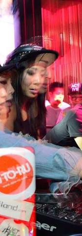 Soundstylist & Queen P (Thailand Top Female DJ's) @Sideshow Kuts Macau China