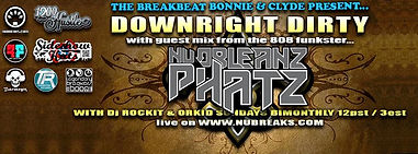 DOWNRIGHT DIRTY /  NUORLEANZ PHATZ: (PHAT COAST RECORDS