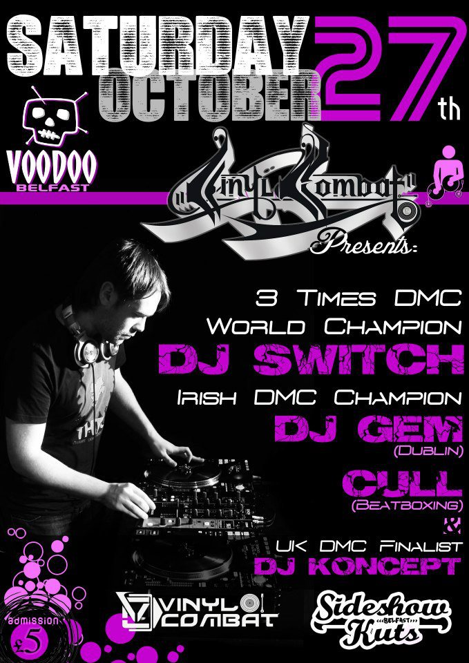 MR SWITCH 4 X WORLD DMC CHAMPION