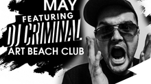 DJ CRIMINAL LIVE AT ART BEACH CLUB KOH LIPE THAILAND 16.05.18