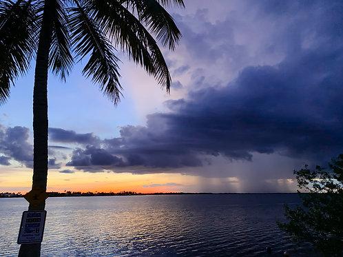 Matlacha Sunset and Rain