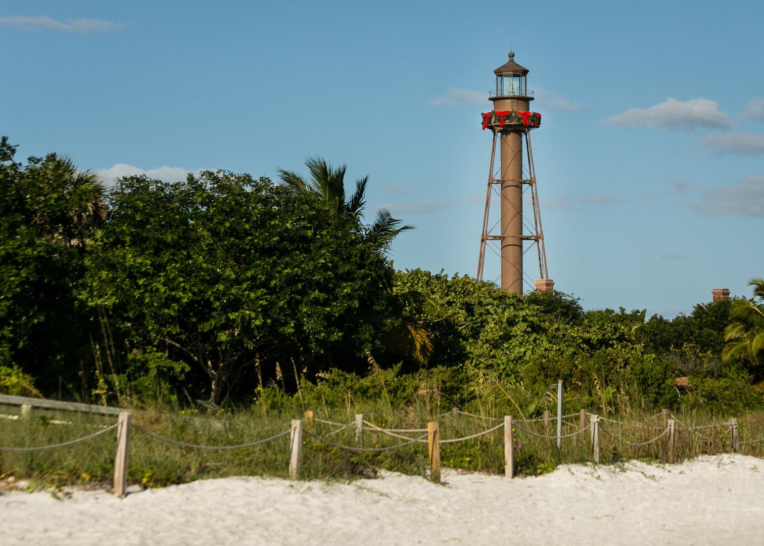Sanibel Lighthouse Landscape