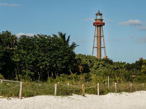 Sanibel Lighthouse - Landscape
