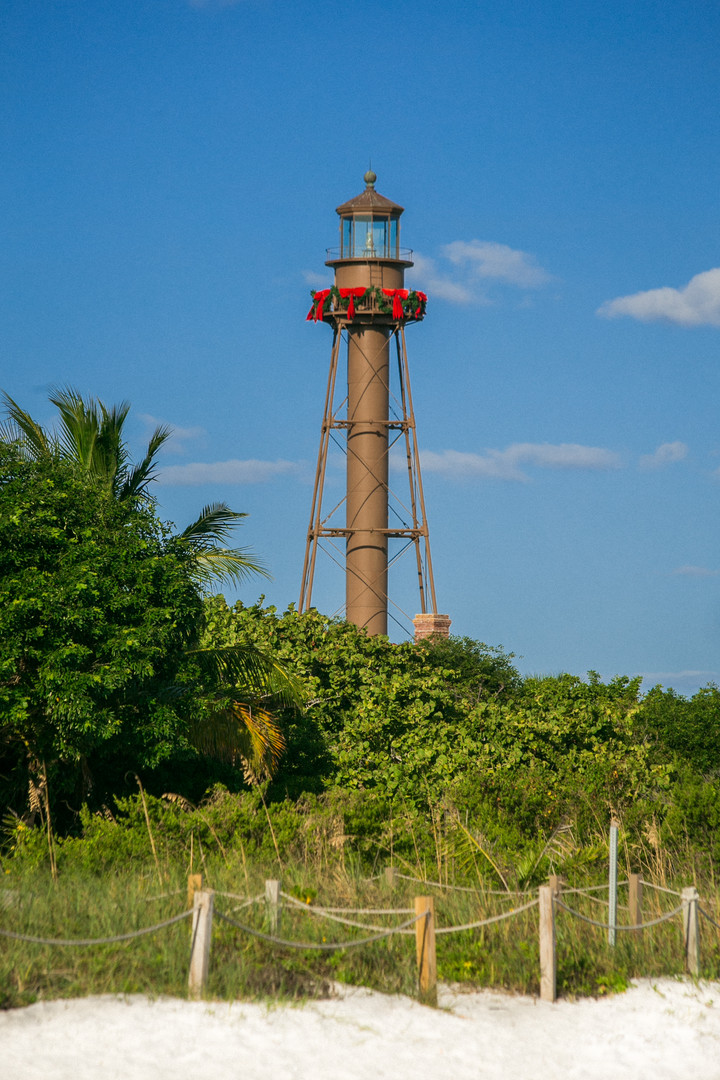 Sanibel Lighthouse Portrait