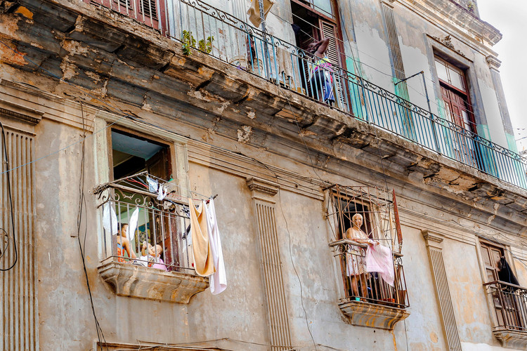 Life on Havana Balconies