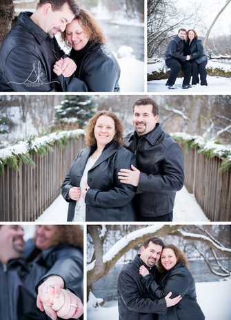 Five Tips For A Successful Winter Engagement Session : Star Prairie, WI