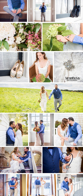 October Wedding : A Small Church in River Falls, Wi