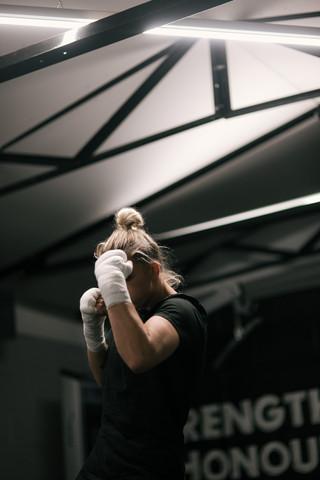 April Hunter   Boxing