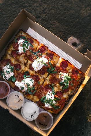 SQUARE Detroit Style Pizza Pie - 2