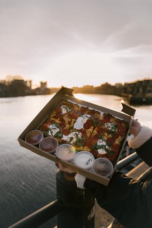 SQUARE Detroit Style Pizza Pie - 4