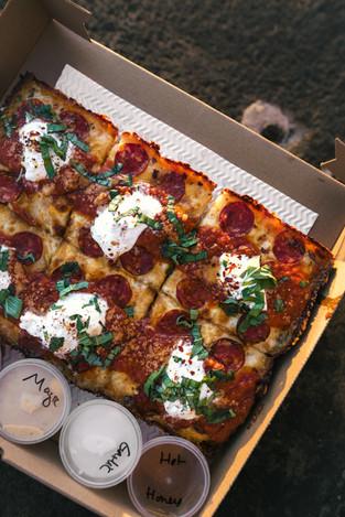 SQUARE Detroit Style Pizza Pie - 1