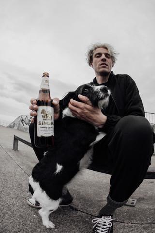 Luke   Molly the dog